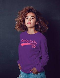 alpha Kappa Delta Phi Tail Crewneck Sweatshirt