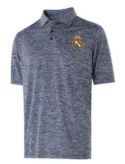 Alpha Phi Omega Greek Crest Emblem Electrify Polo