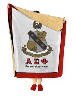 Alpha Sigma Phi Sherpa Lap Blanket
