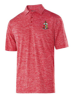 Kappa Alpha Psi Greek Crest Emblem Electrify Polo