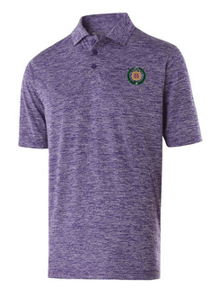Omega Psi Phi Greek Crest Emblem Electrify Polo