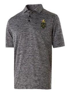 Phi Mu Delta Greek Crest Emblem Electrify Polo