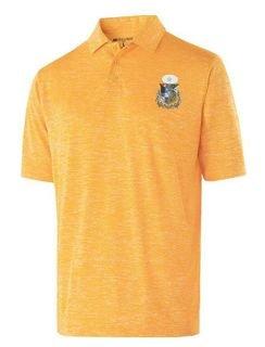 Zeta Psi Greek Crest Emblem Electrify Polo