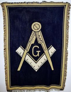 Mason / Freemason Afghans, Blankets & Throws