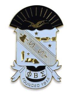 Phi Beta Sigma Die Cut Car Badges