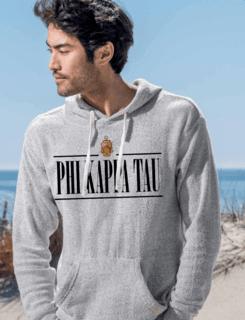 Phi Kappa Tau Line Crest Lucas Loop Fleece Hood