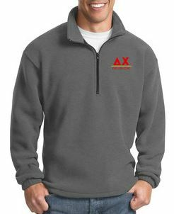 Greek Line 1/4 Zip Pullover