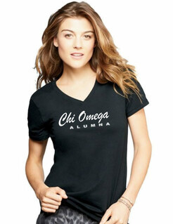 Chi Omega Alumna V-neck