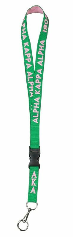 Alpha Kappa Alpha Lanyard
