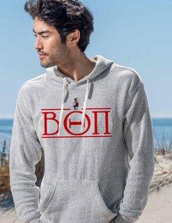 Beta Theta Pi Line Crest Lucas Loop Fleece Hood
