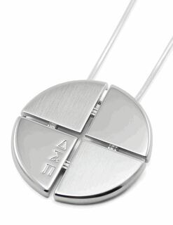 Delta Sigma Pi Circular Pendant