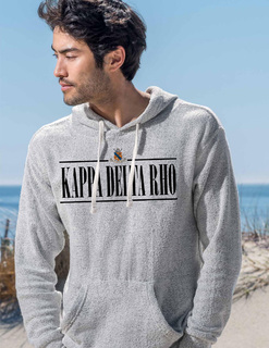 Kappa Delta Rho 2020 Crest Lucas Loop Fleece Hood