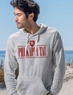 Phi Kappa Tau Lucas Loop Fleece Hood