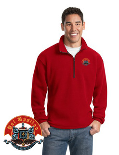 Psi Upsilon Emblem 1/4 Zip Pullover