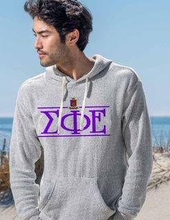 Sigma Phi Epsilon Line Crest Lucas Loop Fleece Hood