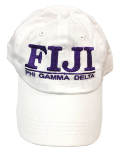 FIJI Fraternity World Famous Line Hat