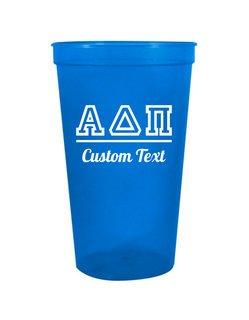 Alpha Delta Pi Custom Greek Collegiate Stadium Cup