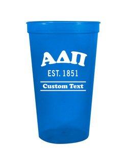 Alpha Delta Pi Custom Greek Cooper Stadium Cup