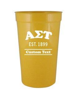 Alpha Sigma Tau Custom Greek Cooper Stadium Cup