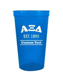 Alpha Xi Delta Custom Greek Cooper Stadium Cup