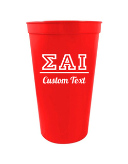 Sigma Alpha Iota Custom Greek Collegiate Stadium Cup