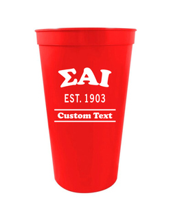 Sigma Alpha Iota Custom Greek Cooper Stadium Cup