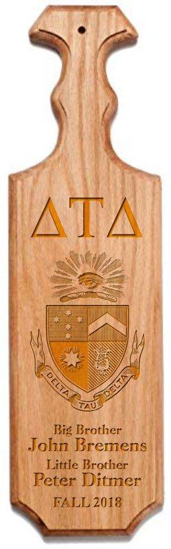 Delta Tau Delta Traditional Greek Paddle