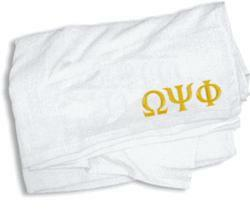 Omega Psi Phi Towel - 35 in. by 60 in.