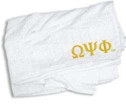 Omega Psi Phi Towel - 35 in. by 60 in.