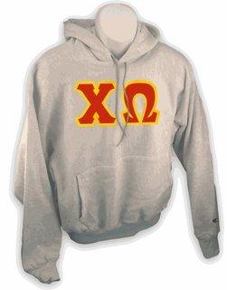 Chi Omega Lettered Sweatshirts