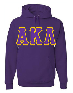 Jumbo Twill Alpha Kappa Lambda Hooded Sweatshirt