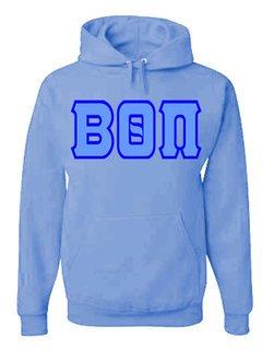 Jumbo Twill Beta Theta Pi Hooded Sweatshirt