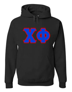 Jumbo Twill Chi Phi Hooded Sweatshirt