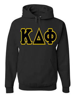 Jumbo Twill Kappa Delta Phi Hooded Sweatshirt