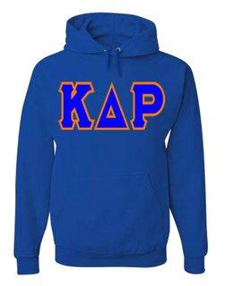 Jumbo Twill Kappa Delta Rho Hooded Sweatshirt