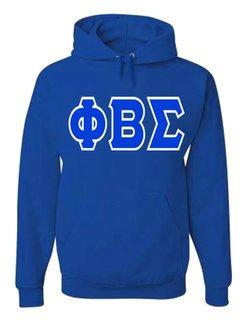 Jumbo Twill Phi Beta Sigma Hooded Sweatshirt