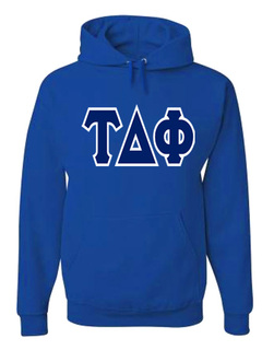 Jumbo Twill Tau Delta Phi Hooded Sweatshirt