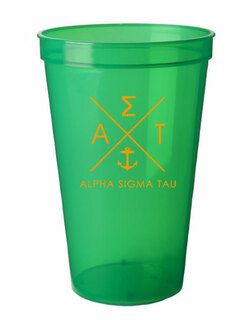 Alpha Sigma Tau Infinity Giant Plastic Cup