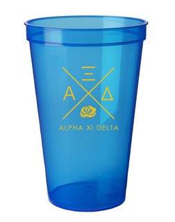 Alpha Xi Delta Infinity Giant Plastic Cup