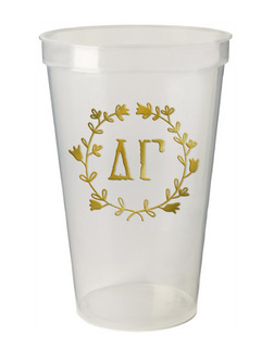 Delta Gamma Greek Wreath Giant Plastic Cup
