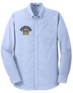 Delta Upsilon SuperPro Oxford Shirt- CLEARANCE