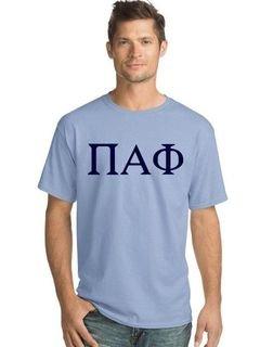 Pi Alpha Phi Lettered Shirt