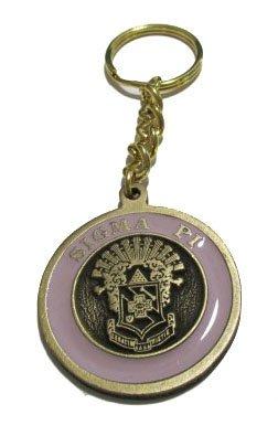 Sigma Pi Metal Fraternity Key Chain