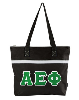 DISCOUNT- Alpha Epsilon Phi Lettered Totebag