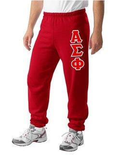 Alpha Sigma Phi Lettered Sweatpants