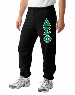 Delta Sigma Phi Lettered Sweatpants