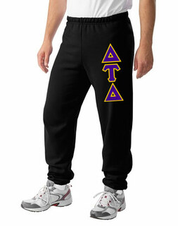 Delta Tau Delta Lettered Sweatpants