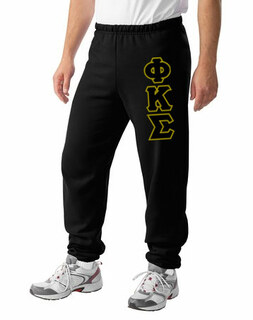 Phi Kappa Sigma Lettered Sweatpants