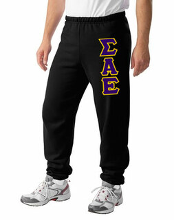 Sigma Alpha Epsilon Lettered Sweatpants