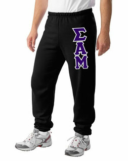 Sigma Alpha Mu Lettered Sweatpants